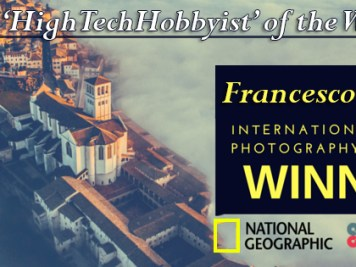 TheHighTechHobbyist of the Week Francesco Cattuto Drone Photographer