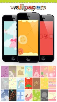 cartoon iphone customization wallpapers