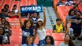 Howard University students show support for the Howard Bison football team during the 2016 AT&T Nation's Classic at RFK Stadium, Saturday, Sept. 17. (Photo Credit: Zachary Stephens, Staff Photographer/The Hilltop)