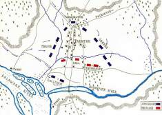 Battle of Trenton Map
