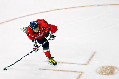 The NHL's Reigning Rocket Richard Winner     Alex Ovechkin