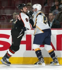 Greg Zanon would be great to have back in Nashville, but he could hold a few other team's up this offseason...