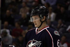 CBJ Defenseman Anton Stralman (Dave Gainer/The Hockey Writers)