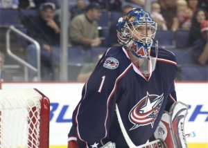 Columbus netminder Steve Mason (Photo by Elisalou Designs/Flickr)