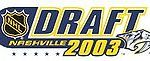 NHL Draft 2003