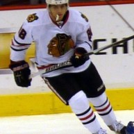 Patrick Kane has overcome a tumultuous off-season. (Matt Boulton/wikimedia)
