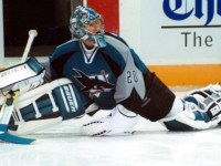 Evgeni Nabokov brings playoff experience from his days with the San Jose Sharks. (Dave Nelson/wikimedia)