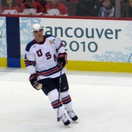 Langenbrunner was Team USA's Captain in the 2010 Olympics