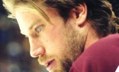 Now returning to the ice....PETER FORSBERG!