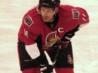 Daniel Alfredsson hopes to return this season (Andrew Rodger THW)