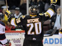Dallas Stars' 44th pick Brett Ritchie shines at Traverse City (Aaron Bell/CHL Images)