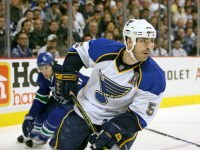 Barret Jackman's tenure with the Blues is over. (Icon SMI)