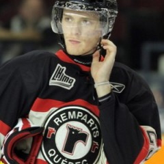 Mikhail Grigorenko scored 135 points in a season and a half for the Quebec Remparts. (THW Media Library)