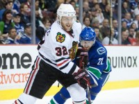 Kris Versteeg has adjusted well in his return to the Chicago Blackhawks. (Icon SMI)