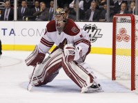Mike Smith could be an Oilers free agent target (Ric Tapia/Icon SMI)