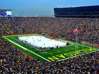 "Michigan's ""Big House"" will play host to the 2013 Winter Classic played between the Detroit Red Wings and Toronto Maple Leafs. (Photo courtesy of The University of Michigan)"
