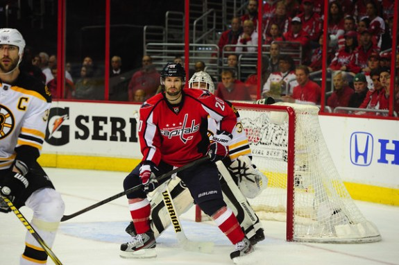 Troy Brouwer had a strong 2012-13, but is he cut out for a Top-6 role?