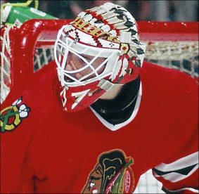 Darren Pang's Goalie Mask