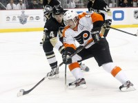 Danny Briere returns to Philly (Charles LeClaire-US PRESSWIRE)