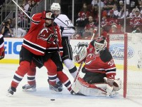 Bryce Salvador has been the Devils' captain since the beginning of the 2012-13 season (Ed Mulholland-US PRESSWIRE)