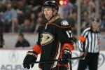 Lubomir Visnovsky with the Anaheim Ducks last season. (Jake Roth-US PRESSWIRE)