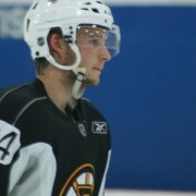 Ryan Spooner at the Boston Bruins 2012 Development Camp. (Photo: Amanda Mand)