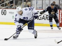 Maple Leafs youngster Matt Frattin is off to a hot start (Charles LeClaire-USPRESSWIRE)