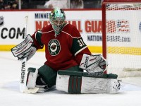 Goaltender Matt Hackett was acquired in the trade for Jason Pominville from Minnesota. (Brace Hemmelgarn/US PRESSWIRE)