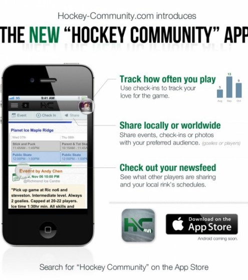 hockey community app