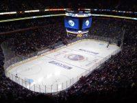 Buffalo's HSBC Arena (cr: FreedomWalker@Wikimedia)