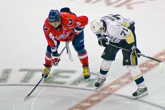 Alex Ovechkin, Evgeni Malkin, Capitals, Penguins