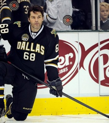 Jaromir Jagr's trade to Boston has resulted in a second first-round pick for the Dallas Stars (Jerome Miron-USA TODAY Sports)