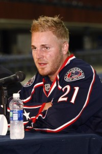 Columbus defenseman James Wisniewski (Columbus Blue Jackets)
