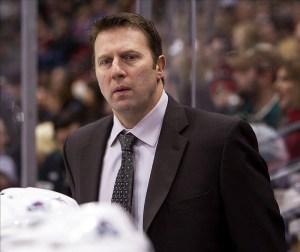 Joe Sacco Avalanche coach NHL