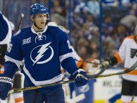 Matt Carle is back with the Bolts. (Jeff Griffith-USA TODAY Sports)