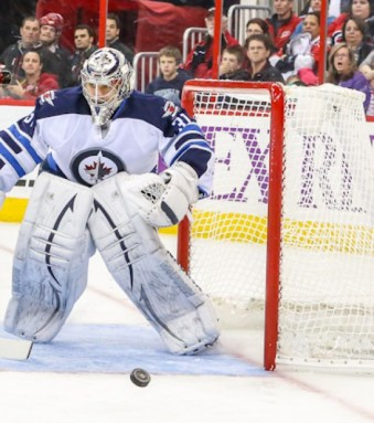 Winnipeg Jet ONDREJ PAVELEC - Photo by Andy Martin Jr