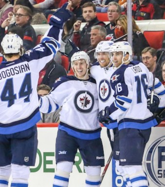 Winnipeg Jets - Photo By Andy Martin Jr