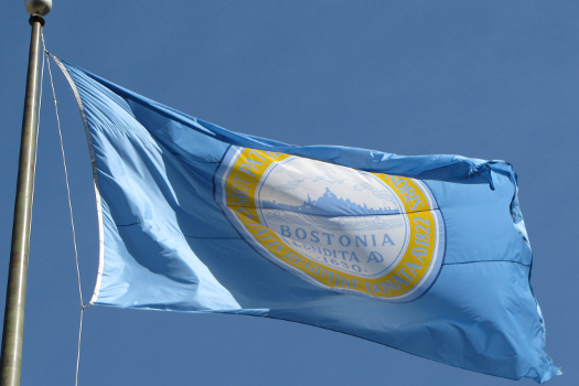 The Flag of Boston (Ed Uthman/Flickr)