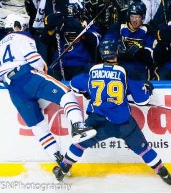 Cracknell amassed 19 hits in 19 games last season (TSN Photography)