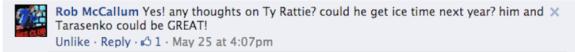 Blues Q&A Ty Rattie