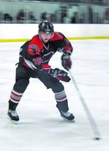 Mackenzie Weegar as a member of the Winchester Hawks in 2010-11. (Darren Matte/The Hockey Writers)