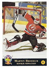 Martin Brodeur hockey card