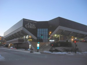 Cumberland County Civic Center, former home of the Portland Pirates, before the $33 million renovation that is expected to be completed by January 2014.