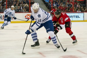 Paul Ranger hasn't played in the NHL since 2009-10 but appears to be a lock to make the Leafs (Marc DesRosiers-USA TODAY Sports)