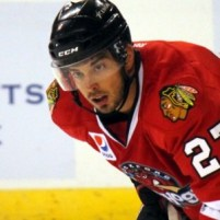 Brandon Pirri Chicago Blackhawks (Ross Bonander / THW)