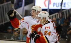 Youthful Flames Search for Faceoff Success