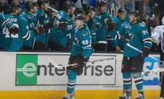 Sharks Likely Line Combinations to Start Season