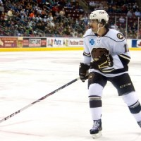 Hershey Bears Derek Whitmore. (Annie Erling Gofus/The Hockey Writers)