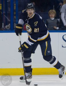 Berglund is currently playing in his sixth NHL season (TSN Photography)