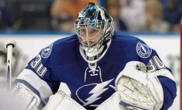 Lightning's Ben Bishop Set to Return to Ice on Tuesday